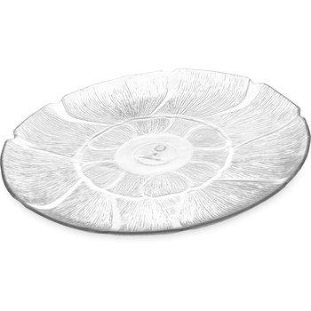 "694207 - Petal Mist® Plate 12-13/16"" - Clear"