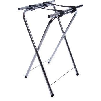 "C362538 - Steel Tray Stand 31-1/2"" - Chrome"