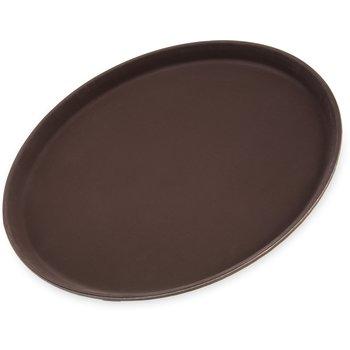 "1400GR076 - Griptite™ Round Tray 14"" / 3/4"" - Toffee Tan"