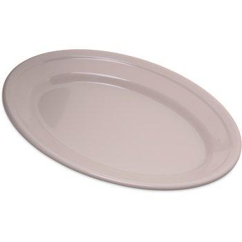 "4356342 - Dallas Ware® Melamine Oval Platter Tray 9.25"" x 6.25"" - Bone"
