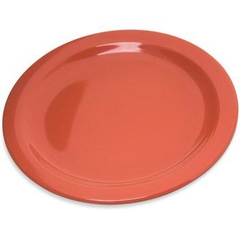 "4350352 - Dallas Ware® Melamine Salad Plate 7.25"" - Sunset Orange"