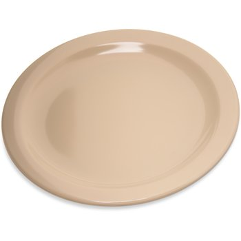 "4350325 - Dallas Ware® Melamine Salad Plate 7.25"" - Tan"