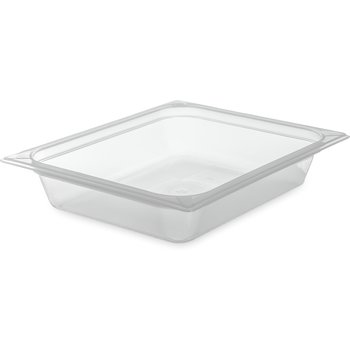 "70220B30 - StorPlus™ Food Pan PP 2.5"" DP 1/2 Size - Translucent"