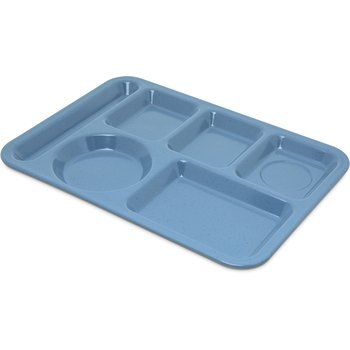 4398192 - Left-Hand Heavy Weight 6-Compartment Tray - Sandshade