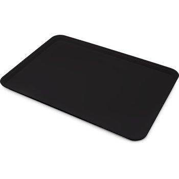 """1814FG004 - Glasteel™ Fiberglass Tray 18"""" x 14"""" - Black"""