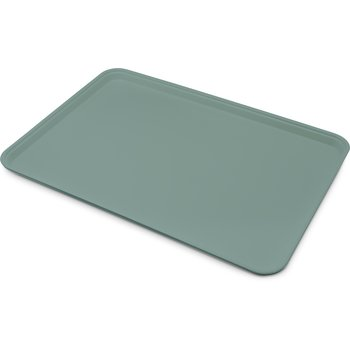 """1318FG010 - Glasteel™ Solid Display/Bakery Tray 17.75"""" x 12.75"""" - Forest Green"""
