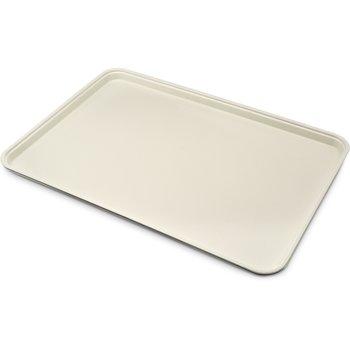 "1318FG025 - Glasteel™ Solid Display/Bakery Tray 17.75"" x 12.75"" - Beige"