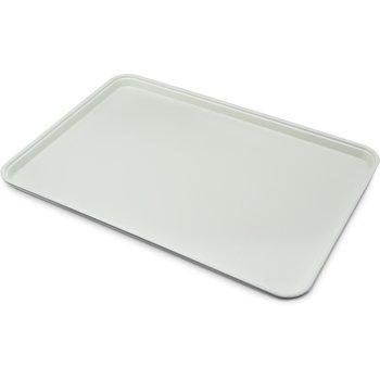 "1318FG068 - Glasteel™ Solid Display/Bakery Tray 17.75"" x 12.75"" - Gray"