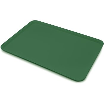 "2618FGQ010 - Glasteel™ Tray Display/Bakery 17.9"" x 25.6"" - Forest Green"