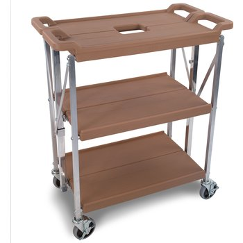 "SBC152125 - Fold 'N Go® Cart 15"" x 21"" - Tan"
