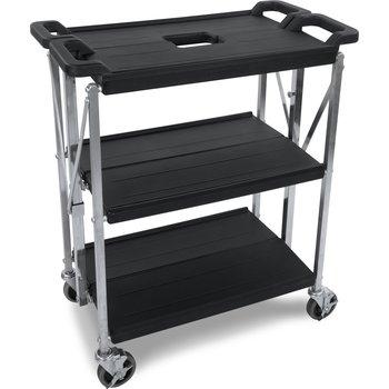 "SBC152103 - Fold 'N Go® Cart 15"" x 21"" - Black"