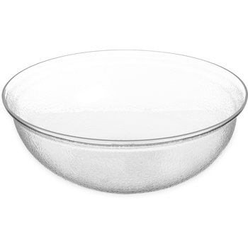 SB7807 - Pebbled Bowl Round 15 qt - Clear