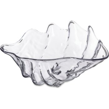 "034407 - Large Shell 5 qt 19"" x 12-7/8"" - Clear"
