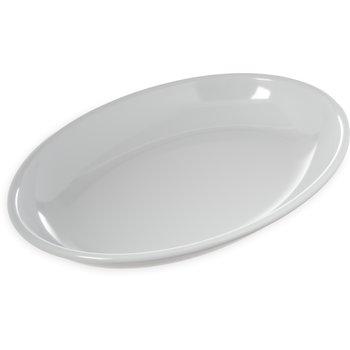 "791602 - Displayware™ 3 qt Oval Platter 16"" x 12"" - White"