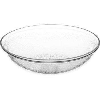 SB7007 - Pebbled Bowl Round 2 qt - Clear