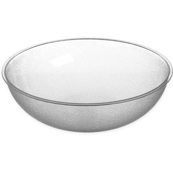 720807 - Round Pebbled Bowl 1.7 qt - Clear