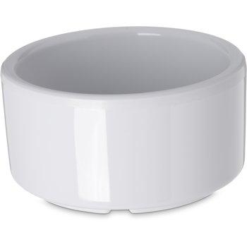 41202 - Melamine Straight-Sided Ramekin 3 oz - White
