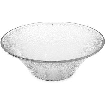 732507 - Pebbled Bowl 3.3 qt - Clear