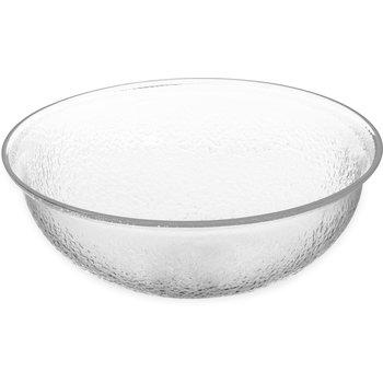 SB7207 - Pebbled Bowl Round 4 qt - Clear