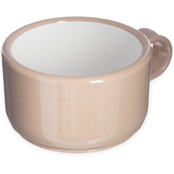 "451219 - Jumbo Soup/Latte Mug 12 oz, 5-1/2"" - Stone"
