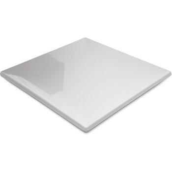 """HAL0902 - Halcyon Square Rim Plate 9"""" - Bone"""