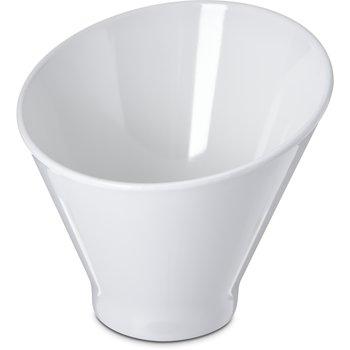 "HAL0502 - Halcyon Angled Appetizer Cup 5"" - 11 oz - Bone"