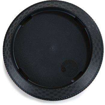 """652803 - PLATTER 9 1/4"""" ROUND WEAVE BLACK"""