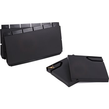 """CD203603 - Doors and Panels for Small Bussing Cart 18"""" x 36"""" - Black"""