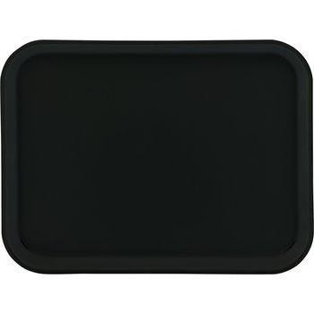 "1410FG004 - Glasteel™ Solid Rectangular Tray 13.75"" x 10.6"" - Black"