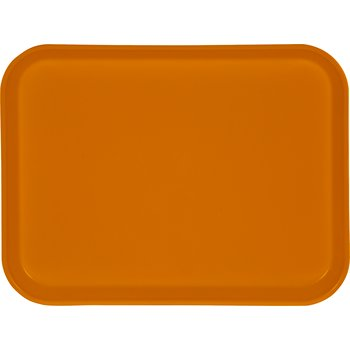 "1410FG023 - Glasteel™ Solid Rectangular Tray 13.75"" x 10.6"" - Gold"