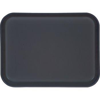 "1410FG067 - Glasteel™ Solid Rectangular Tray 13.75"" x 10.6"" - Slate Blue"