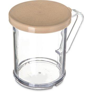 427006 - Shaker/Dredge With Salt & Pepper Lid 1 cup / 8 oz. - Beige