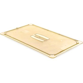 10410U13 - StorPlus™ Univ Lid - Food Pan HH Handled Full Size - Amber