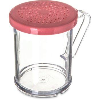 425055 - Shaker/Dredge With Medium Grind Lid 1 cup / 8 oz. - Rose