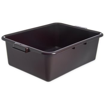 "N4401101 - Comfort Curve™ Tote Box 20"" x 15"" x 7"" - Brown"