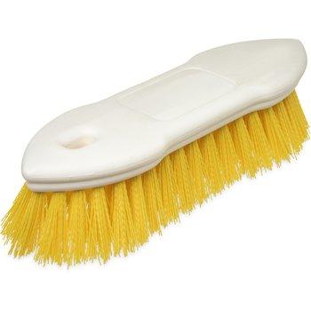 "4549404 - Spectrum® Pointed End Scrub Brush 8"" - Yellow"