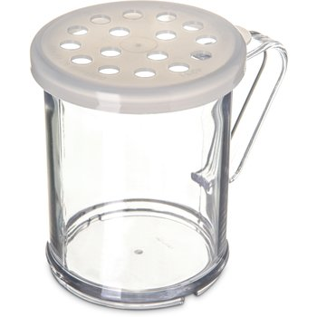423030 - Shaker/Dredge With Parsley Lid 1 cup / 8 oz. - Translucent