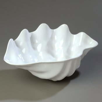 "034402 - Large Shell 5 qt 19"" x 12-7/8"" - White"