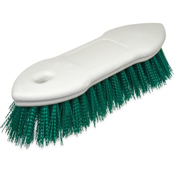 "4549409 - Spectrum® Pointed End Scrub Brush 8"" - Green"