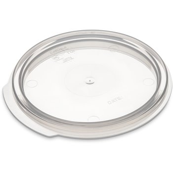 1077030 - StorPlus™ Round Container Lid 1 qt - Translucent