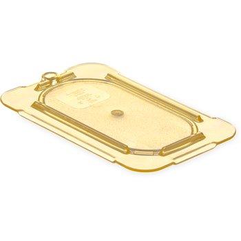 10536U13 - StorPlus™ Univ Lid - Food Pan HH Flat 1/9 Size - Amber