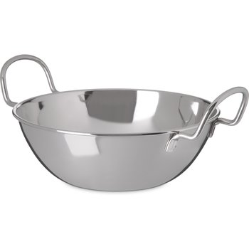 "609094 - Balti Dish 44 oz, 7-1/2"" - Stainless Steel"