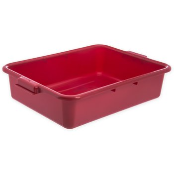 "N4401005 - Comfort Curve™ Tote Box 20"" x 15"" x 5"" - Red"