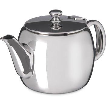 609155 - Rhapsody™ Tea Server 14 oz - Stainless Steel