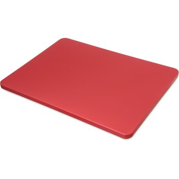 "1288705 - Spectrum® Color Cutting Board Pack 15"", 20"", 3/4"" - Red"