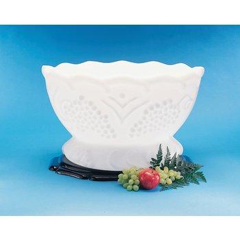 SGR102 - Ice Sculptures™ Grecian Bowl - White