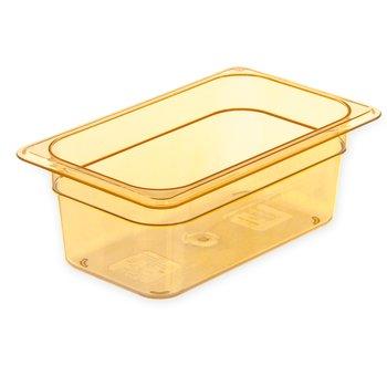 "3088313 - StorPlus™ Food Pan HH 2.5"" DP 1/6 Size - Amber"