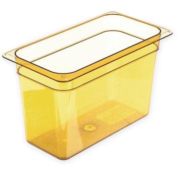 "3086913 - StorPlus™ Food Pan HH 8"" DP 1/3 Size - Amber"