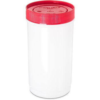 PS602N05 - Stor N' Pour® Quart Backup Container w/ Assorted Color Caps 1 Quart - Red