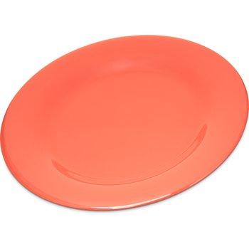 "4301052 - Durus® Melamine Dinner Plate Wide Rim 10.5"" - Sunset Orange"